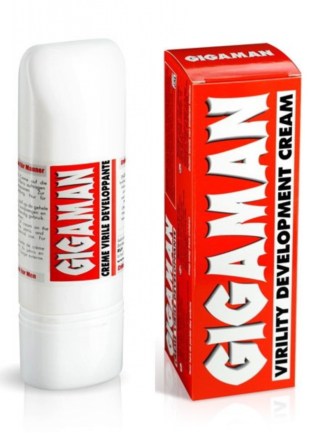 Creme pour homme Gigaman