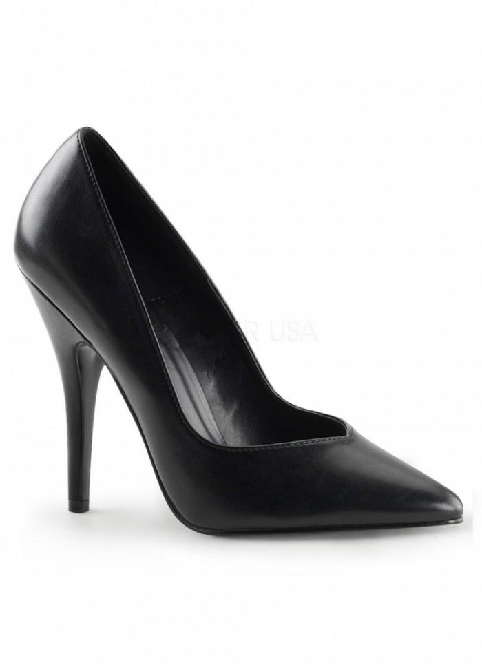 Pleaser Chaussures Escarpin noir grande Taille 41 au 46 - Talon 13 cm