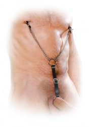 Pinces à seins & cockring Nipple Clamps and Cockring Set