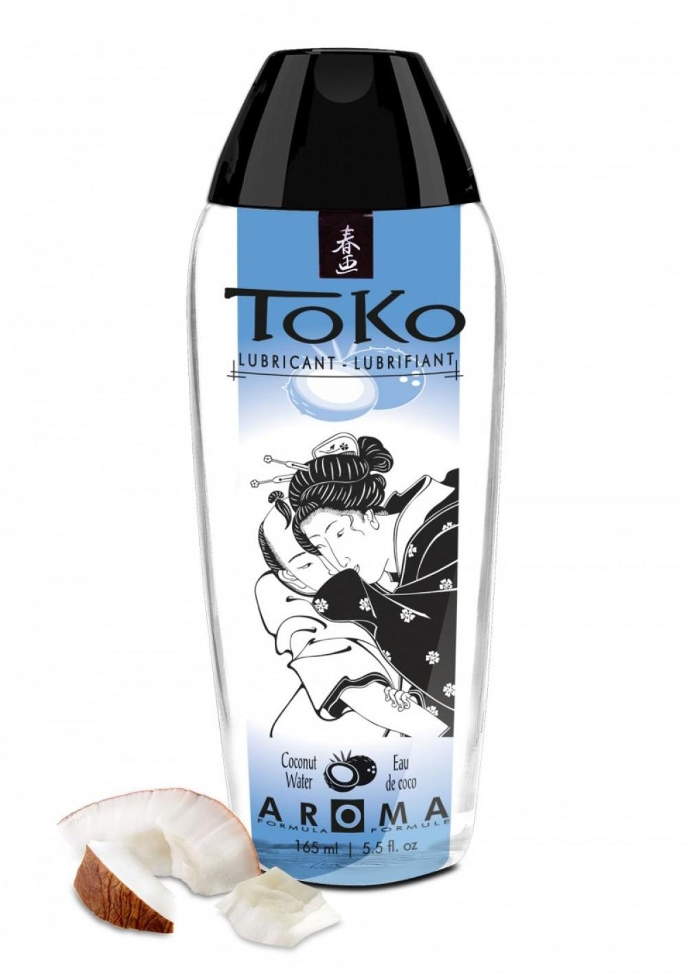 Shunga Lubrifiant Eau comestible Toko Aroma 165 ml Coconut