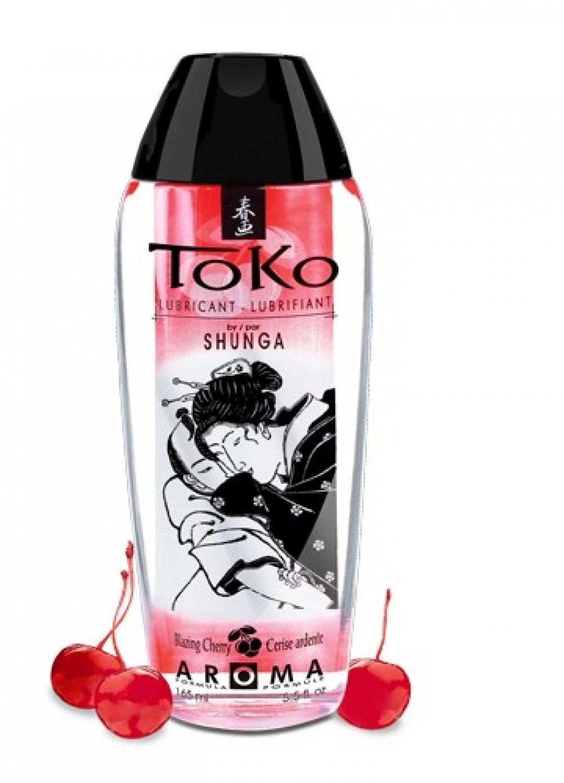 Shunga Lubrifiant Eau comestible Toko Aroma 165 ml Cerise