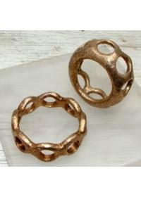 Cockring Rosebud Gaudiset bronze