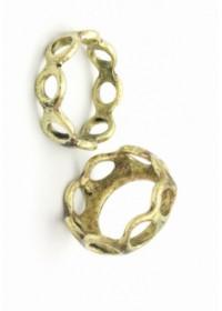 Cockring Rosebud Gaudiset 2 anneaux en bronze