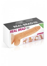 RealBody Gode réaliste peau va & vient Brad L 20cm boite
