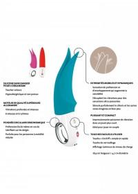 FunFactory Stimulateur clitoris rechargeable Volta fiche technique