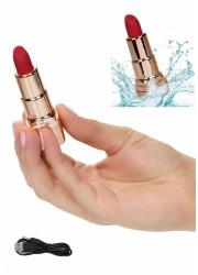 Stimulateur clitoris forme Rouge à lèvre Rechargeable HidePlay Lipstick