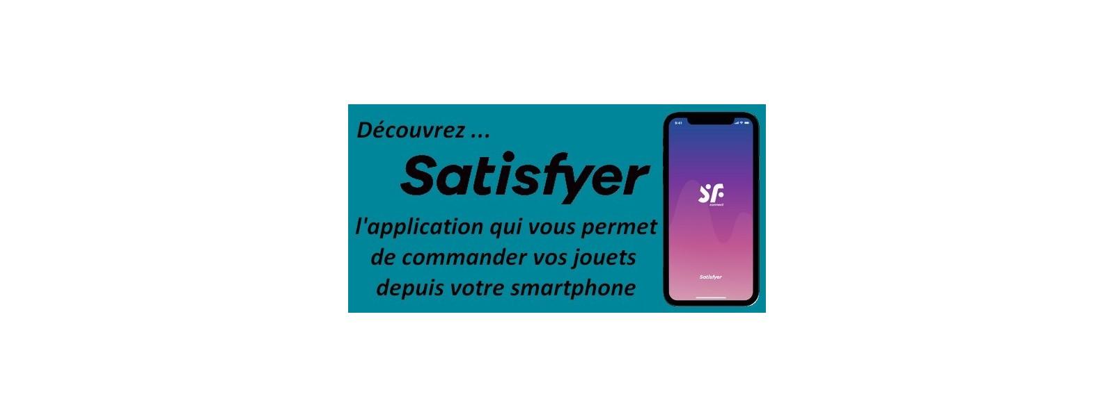 Satisfyer application smartphone