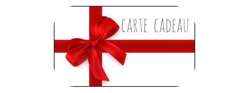 Les cartes cadeaux en ligne sont disponibles !!